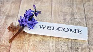 Bienvenue chez vous !