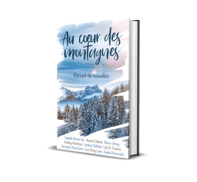 """Livre auquel Larème Debbah à participé""""Aux cœurs des montagnes"""" Un recueil de nouvelles gratuits sur Amazon"""